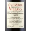 ősi gábor cabernet sauvignon 2015