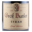 gróf buttler syrah 2013
