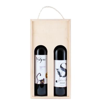 ajándék boros fadoboz