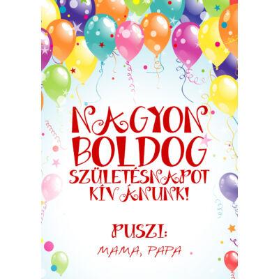 Születésnapi üdvözlőkártya #1