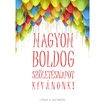 Születésnapi üdvözlőkártya #6
