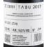 Kép 3/3 - schieber tabu cabernet sauvignon 2017